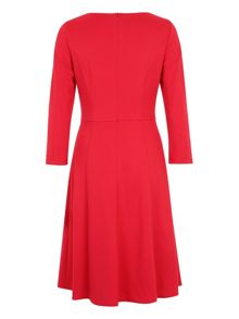 Basler Flared Jersey Dress
