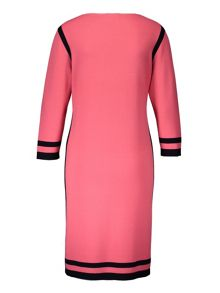 Basler Dress With Contrasting Edging
