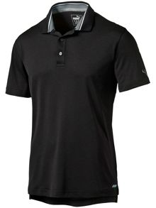 Puma Tailored tipped polo