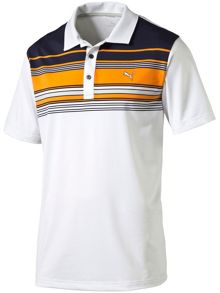 Puma Key stripe polo