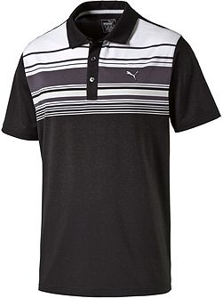 Key stripe polo