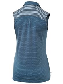 Puma Polka Stripe Sleeveless Polo