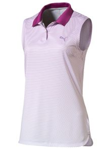 Puma 3D Stripe Sleeveless Polo