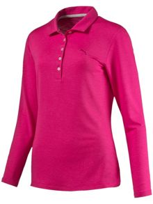 Puma Long Sleeved Polo