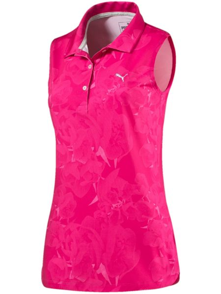 Puma Bloom Sleeveless Polo