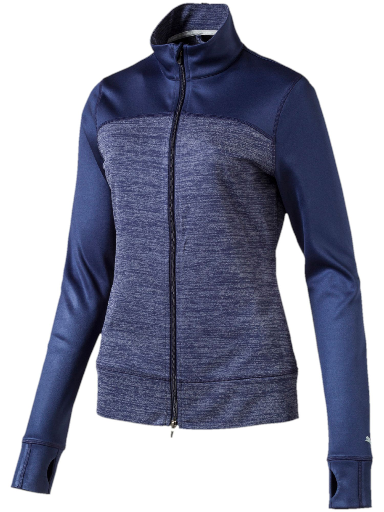 Puma Colorblock Full Zip Jacket, Blue
