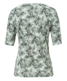 Olsen Palm leaves printed T-shirt