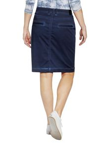 Sandwich Diagonal zip pocket skirt