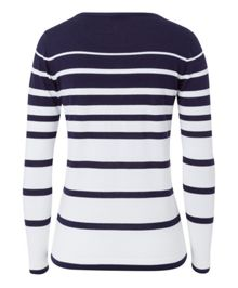 Olsen Navy striped jumper
