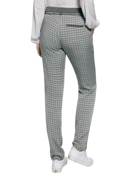Sandwich Printed trousers