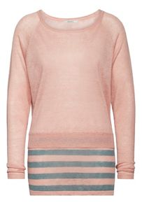 Sandwich Stripe hem jumper