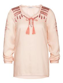 Sandwich Embroidered blouse