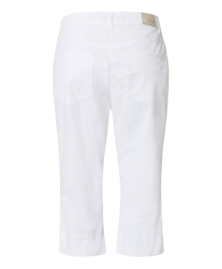 Olsen Straight cropped trousers