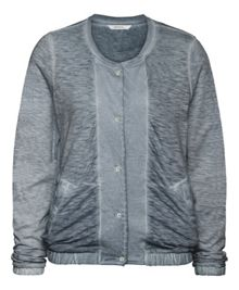 Sandwich Vinatage wash T-shirt cardigan