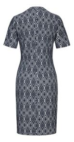Sandwich Jacquard dress