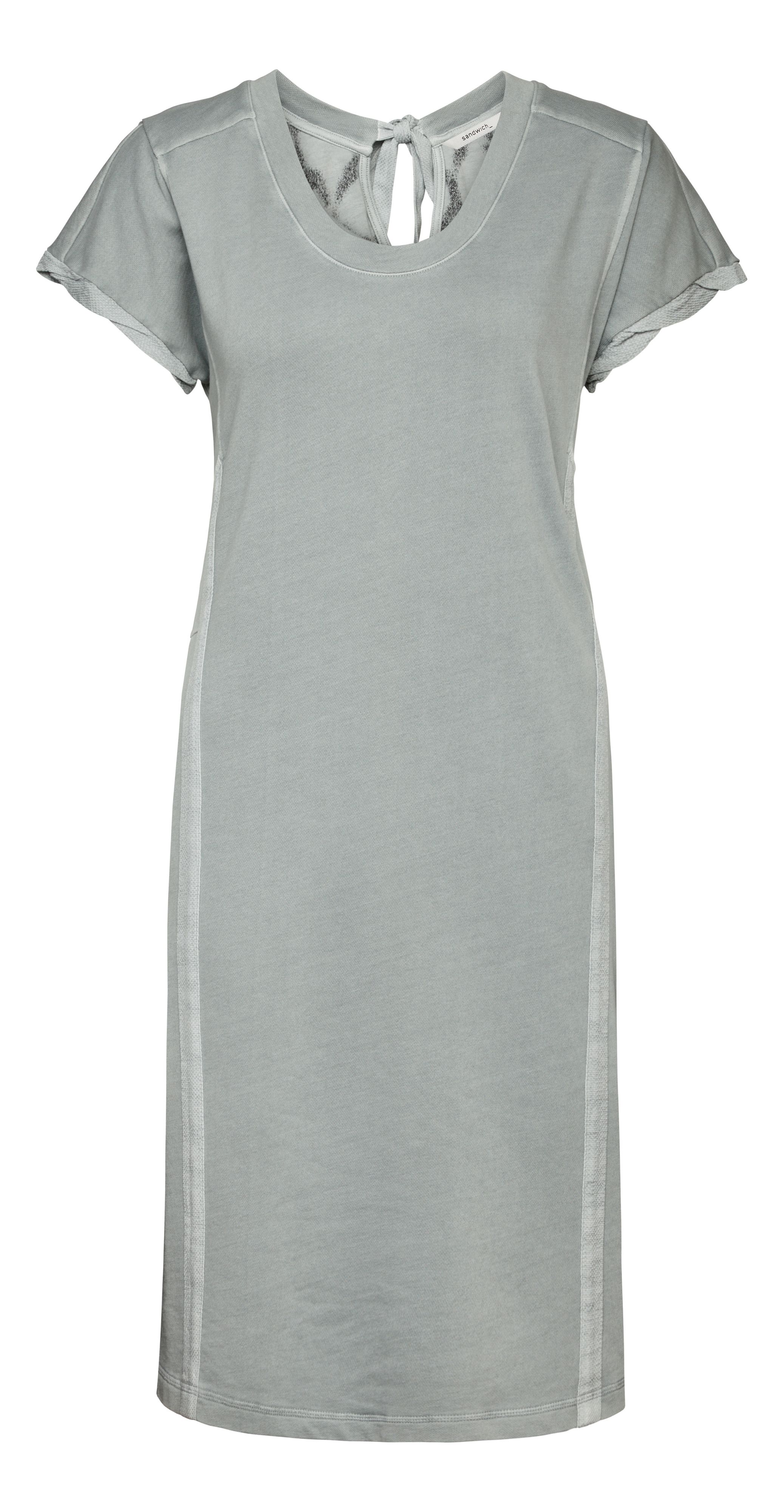 Sandwich Sandwich Cosy sweatshirt dress, Mid Grey Marl