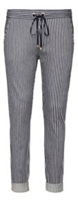 Sandwich Striped jersey trousers