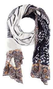 Sandwich African inspired print scarf