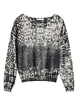 Inside out printed jumper