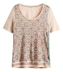 Sandwich Ethnic print top