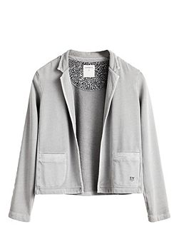 Soft cotton blend jacket