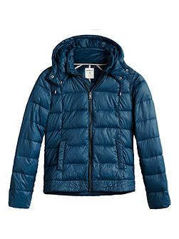 Patriot blue quilted jacket
