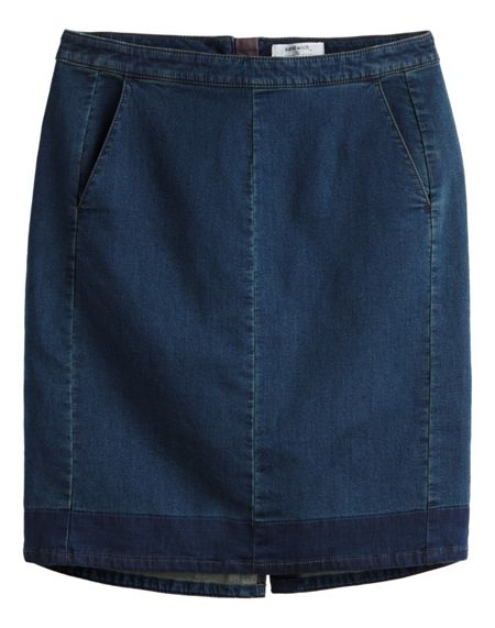Sandwich Super soft denim skirt