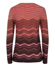 Olsen Wave stripe T-shirt