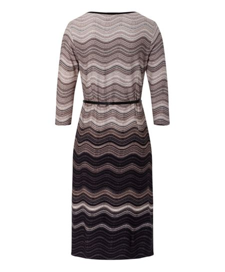 Olsen Wave stripe dress