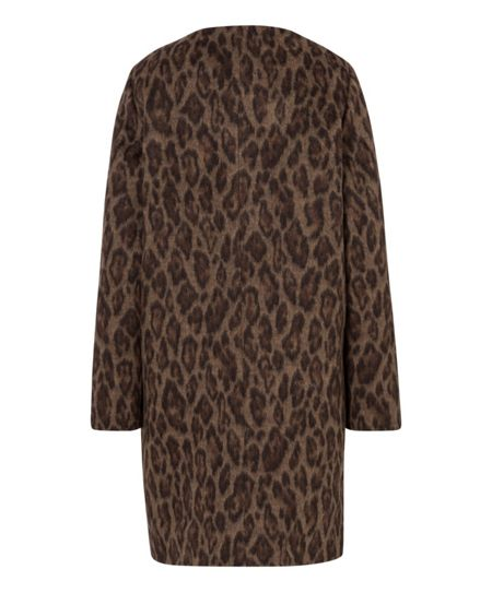 Olsen Animal print coat