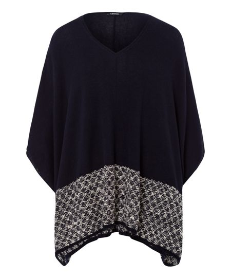 Olsen Knitted poncho