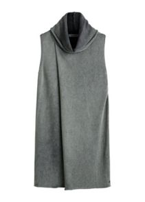 Sandwich Cross over sleeveless knit