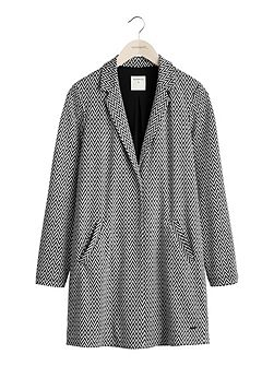 Soft tailored long jacket