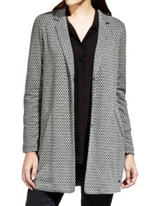 Sandwich Soft tailored long jacket