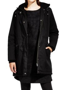 Sandwich Faux fur lined parka