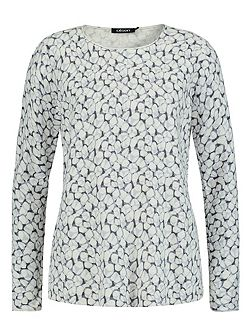 Pebble print jumper