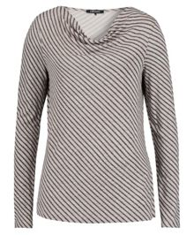 Olsen Diagonal stripe T-shirt