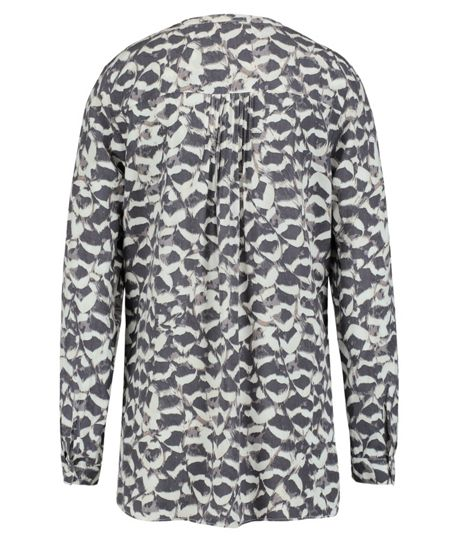 Olsen Feather print blouse