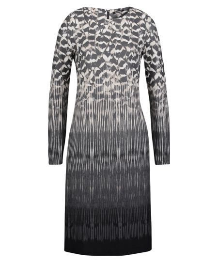Olsen Feather print dress