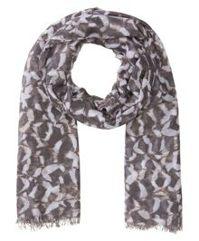 Olsen Feather print scarf