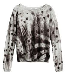 Sandwich Abstract print jumper