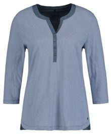 Olsen 3/4 sleeves Henley top