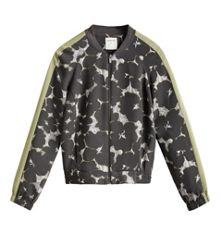 Sandwich Printed bomber jacket