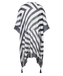 Olsen Summer stripe cape