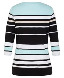 Olsen Tricolour stripe T-shirt