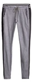 Sandwich Relaxed fit stripe trousers