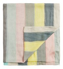 Sandwich Multicoloured stripes scarf