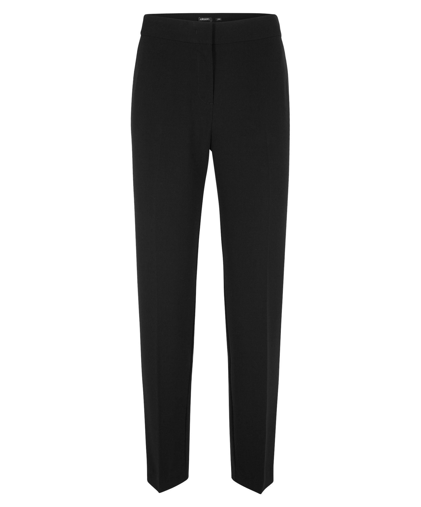 Olsen Relaxed Lisa trousers, Black