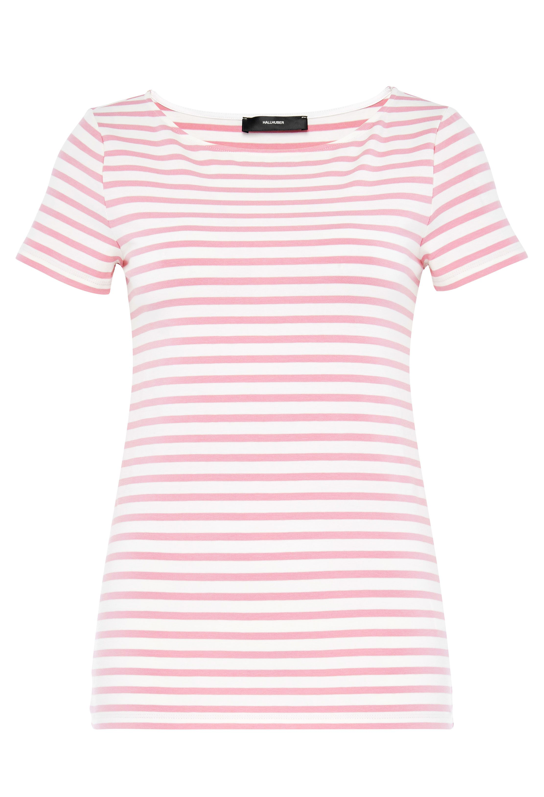 Hallhuber Basic Stripe Top, Pink