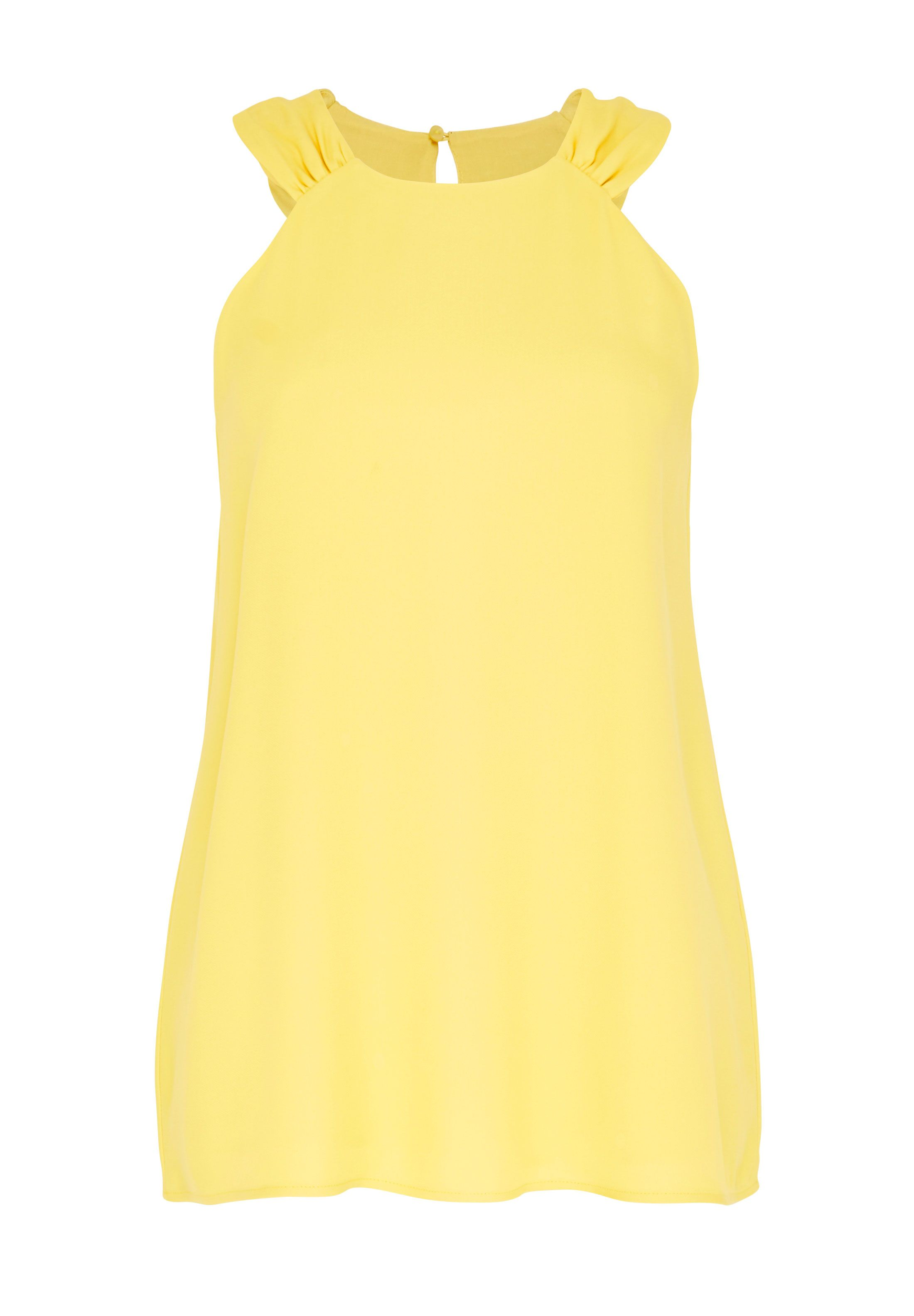 Hallhuber A-Line Top, Yellow